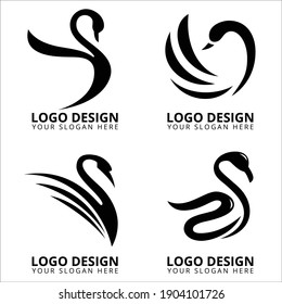 Black Swan Logo Design Collection