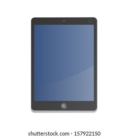 black tablet mobile device computer