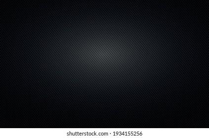 Black texture polymer composite material, dark carbon - Vector illustration
