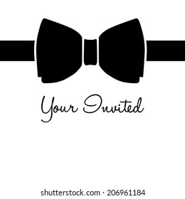 black tie your invited