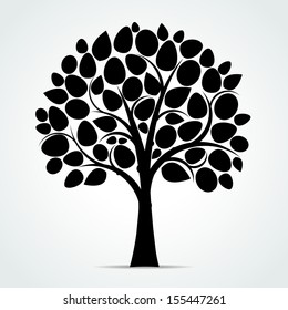 tree silhouette images  stock photos   vectors shutterstock birch tree vector art birch tree vector background