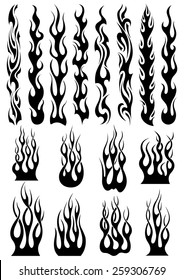 Flame Tribal Images Stock Photos Vectors Shutterstock