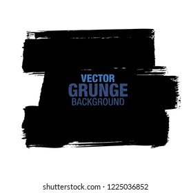 black vector grunge background