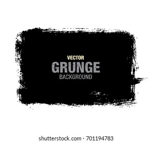 Black vector grunge background