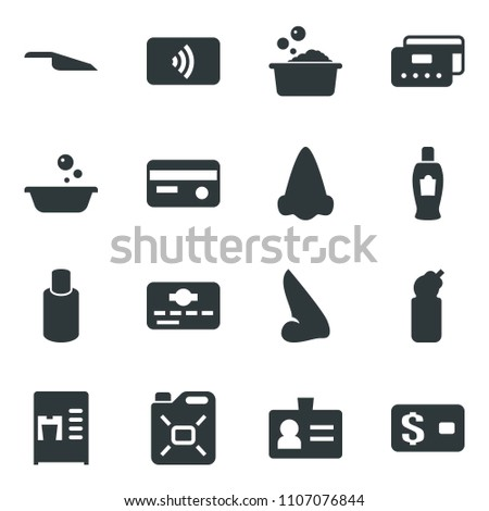 Black Vector Icon Set Coffee Machine Stock Vector (Royalty Free