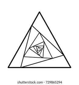 Tattoo Triangle Images Stock Photos Vectors Shutterstock