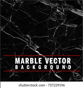 Black Vector Marble Background (EPS10 Format)