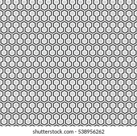 Black Vector Polygon Pattern