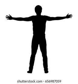 black-vector-silhouette-standing-man-260