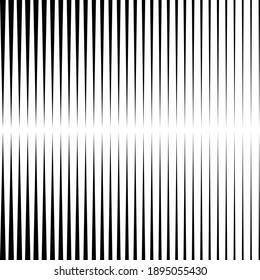 Black vertical parallel triangle stripes. Abstract monochrome background. Modern shape. Design element for prints, web pages, wall mural, template and textile pattern