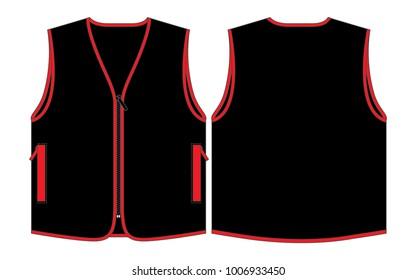 Black Vest for template