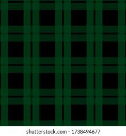black watch tartan plaid seamless pattern