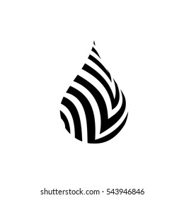 Black water drop icon, water drop sign water drop vector, water drop logo