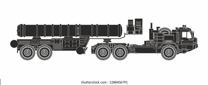 black weaponry on the white background
