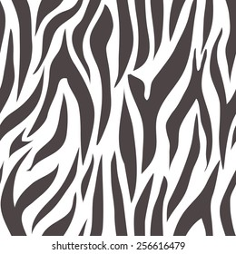 black and white abstract seamless pattern.