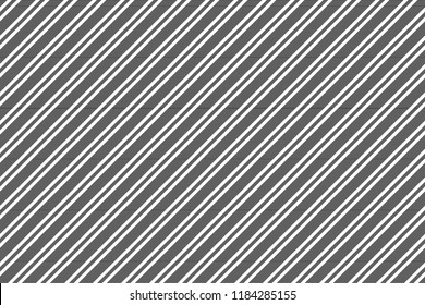 Black white abstract striped seamless pattern. Vector illustration.