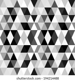 black and white background abstract geometry pattern