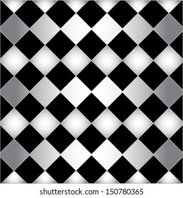 Black and white background. Creative abstract vector pattern. Old style vector texture.