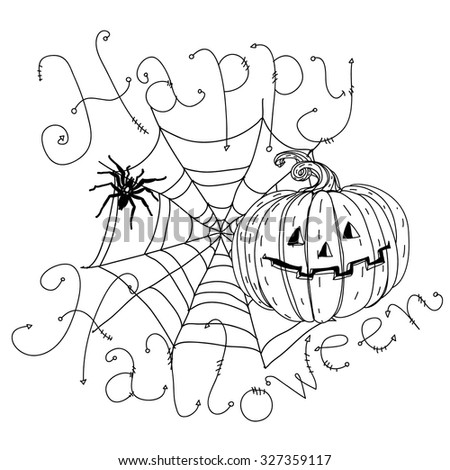 Halloween Happy coloring banner pictures advise to wear for autumn in 2019