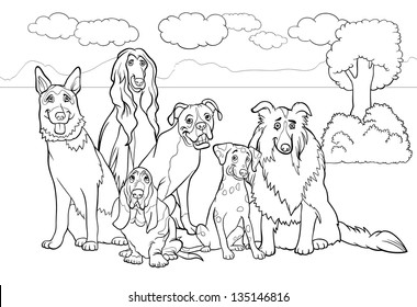 free coloring pages of afghans hounds | Afghan Hound Stock Vectors, Images & Vector Art | Shutterstock
