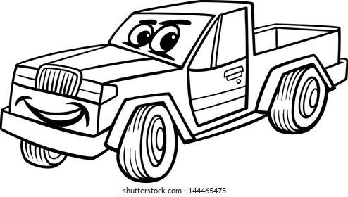 Pickup Truck Vector Stock Vectors Images Vector Art