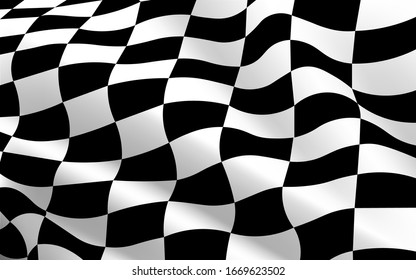 black and white checkered flag texture background