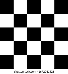 A black and white checkered pattern background image.