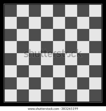 black white chess board template design stock vector royalty free