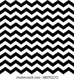 black & white chevron pattern, seamless texture background