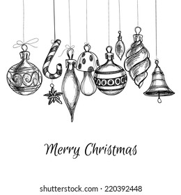 Black And White Christmas Ornaments Images Stock Photos Vectors