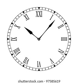 clock face images stock photos vectors shutterstock