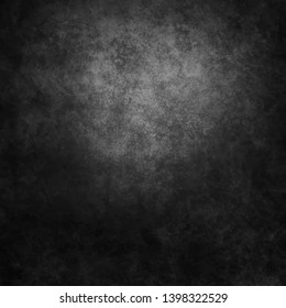Black and white concrete wall texture. Texture of a grey stone background.  Vector illustration.