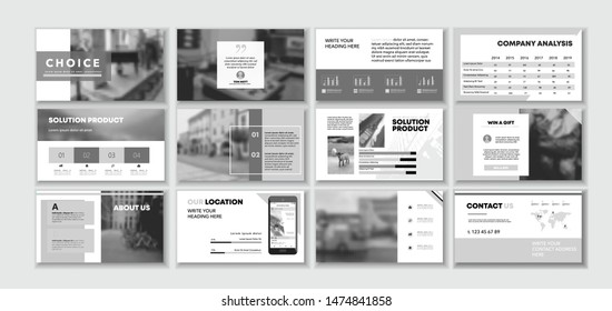 Black and White Corporate design ideas. Social media pack. Set of minimal modern blog posts or Editable simple info banner, trendy book ad idea. Bright flyer. For app, digital display style.