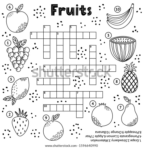 It's just a graphic of Kids Crossword Puzzles Printable in grade 1