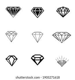 black in white diamond abstract vector design