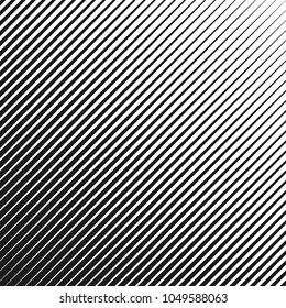 Black and white geometric pattern. Vector dynamic stripes. Speed line background. Straight parallel lines.
