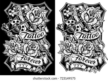 Tattoo Sketch Images Stock Photos Vectors Shutterstock