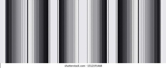 Black colorful serape
