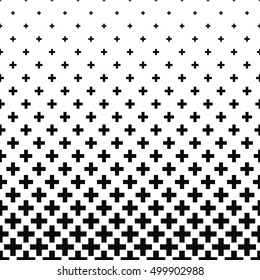 Black and white greek cross pattern background design