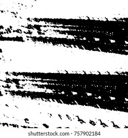 Black and white grunge background vector