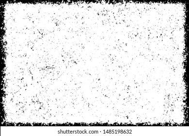 Black white grunge. Gloomy abstract monochrome background. Smudge. Worn texture