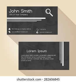 Ceo business card images stock photos vectors shutterstock black and white grunge paper simple business card design eps10 colourmoves