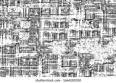 Black and white grunge texture. Abstract monochrome background