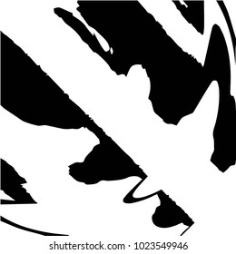 Black and white grunge vector line background. Abstract halftone illustration background. Grunge grid background pattern