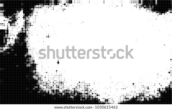 Black White Halftone Abstract Texture Dots | Backgrounds/Textures ...