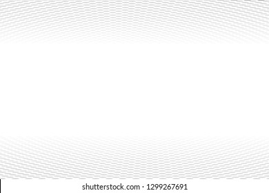 Black and white halftone perspective background