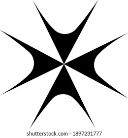 black and white icon, new brand logo,
