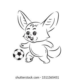 Fussball Lustig Stockillustrationen Bilder Und