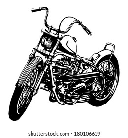 Motorcycle Drawing Images Stock Photos Vectors Shutterstock
