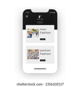 Phone+app+clothing+retail+store Images, Stock Photos